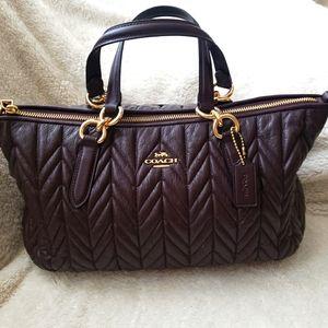 ❣Coach Leather Medium Bag❣
